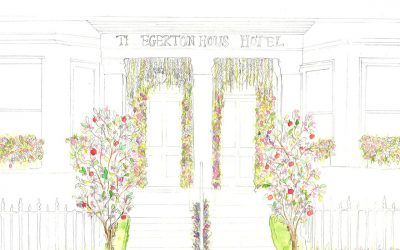 Chelsea Flower Show inspired event at The Egerton House Hotel